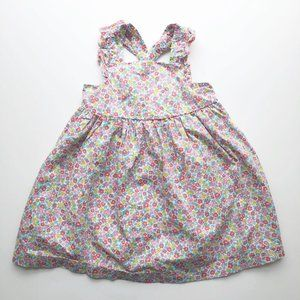 OshKosh Floral Pinafore Dress